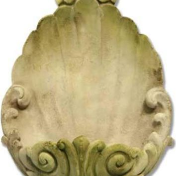 Wall Planter Scallop Shell Shaped Garden Wall Hanging Sconce 18H