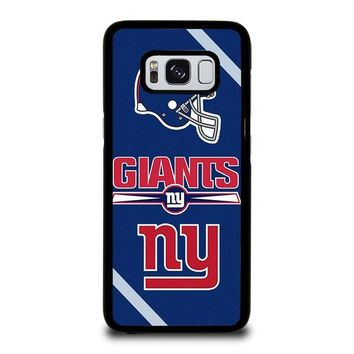 NEW YORK GIANTS NY Samsung Galaxy S3 S4 S5 S6 S7 Edge S8 Plus, Note 3 4 5 8 Case Cover