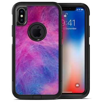 Pink and Blue Fume Clouds - iPhone X OtterBox Case & Skin Kits