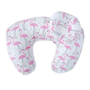 2Pcs/Set Maternity Pillows Baby Breastfeeding Pillow Infant Cuddle U-Shaped Newbron Cotton Feeding Nursing Pillow Waist Cushion