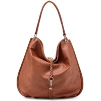 Sole Society Bie Vegan Hobo With Braided Detail