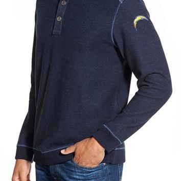 Men's Tommy Bahama 'Scrimshaw - San Diego Chargers' NFL Pullover,