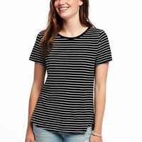 EveryWear Relaxed Crew-Neck Tee for Women | Old Navy
