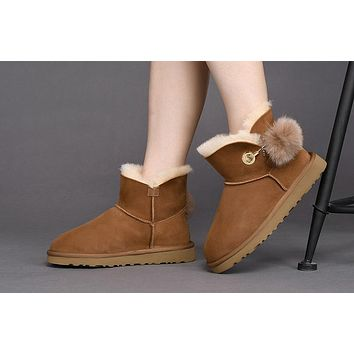 Best Deal Online Fashion UGG LIMITED EDITION CLASSICS CHESTNUT Boots Women Shoes 10175