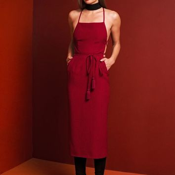 Camellia Dress - Red Honeycomb | Stone Cold Fox