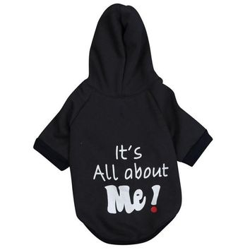 Winter jumpsuit hoodie Its All About Me