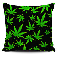 "Weed Print 18"" Pillow Covers"