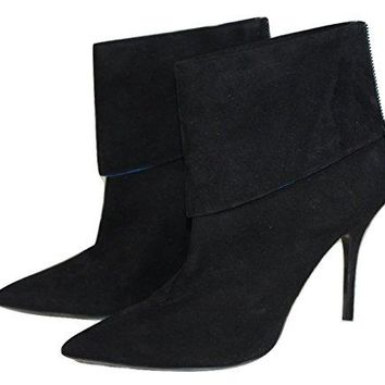 Christian Dior Women's Reverso Bootie Black Suede Size 38 40