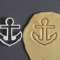 Anchor cookie cutter, 3D printed