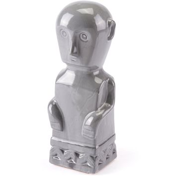 Gray Maya Figurine, Large