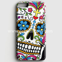 Sugar Skull Dia De Los Muertos iPhone 6 Plus/6S Plus Case | casefantasy
