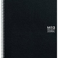 Miquelrius 8.5 x 11 Project Journal Notebook, Lined, Graph + Plain Pages