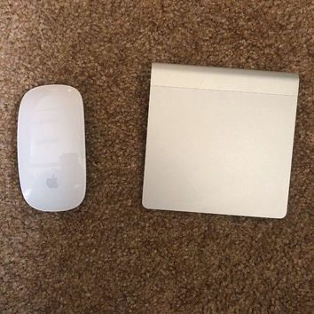 VONW3Q Apple A1339 Bluetooth Wireless Magic Trackpad and A1296 Magic Mouse