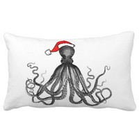 Holiday Nautical Steampunk Octopus Vintage Kraken