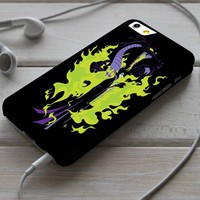 Disney Maleficent Sleeping Beauty Custom Case for iPhone 4/4s 5 5s 5c 6 6 plus 7 Case