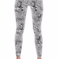 Zen Coloring Leggings