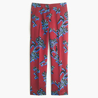 J.Crew Womens Collection Patio Pant In Vibrant Wildflower