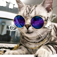 Fashion Glasses Pet Cat Puppy Toy Glasses Dog Sunglasses Pet Accessories