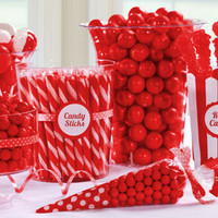 Red Candy Buffet- Party City