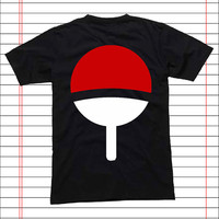 Uchiha Logo Naruto Shippuden popular item T Shirt Mens S-2XL and T Shirt Womens Size S-2XL by Dicakno