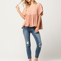 FREE PEOPLE Odyssey Womens Tee | Knit Tops + Tees