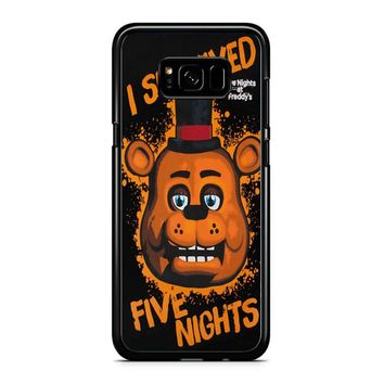 Five Nights At Freddy S I Survived Samsung Galaxy S8 Plus Case