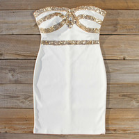 Sleigh Bells Party Dress in Snow