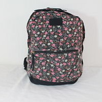 "NEW! O'NEILL ""CALDER FLORAL"" GIRLS MULTI-COLOR SCHOOL/BOOK/TRAVEL/BACKPACK"