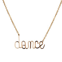 Dance Necklace