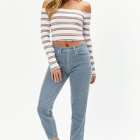 Me To We Amber Lust Off-The-Shoulder Top at PacSun.com - multi | PacSun