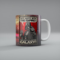 Darth Vader Galactic Patriotism Mugs