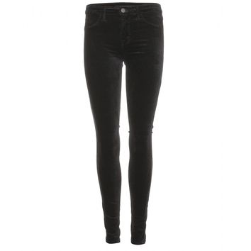 mytheresa.com -  Mid-Rise Super Skinny velvet jeans  - Luxury Fashion for Women / Designer clothing, shoes, bags