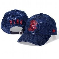 Boston Red Sox Bling Baseball Hat - PINK - Victoria's Secret