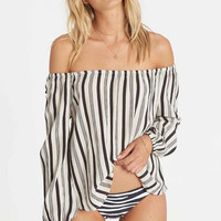 Billabong - Mi Amore Top | Black & White