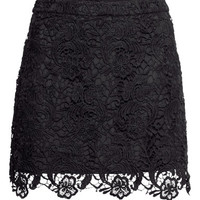 Lace Skirt - from H&M