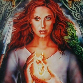 Goddess Brigid Reading- Celtic Goddess of Healing, Energy and Wisdom, Channelled Reading