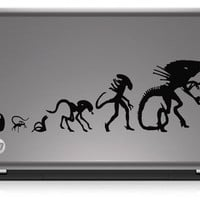 Aliens Xenomorph Evolution Die Cut Vinyl Decal Sticker