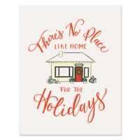 Home for The Holidays - Print & Canvas