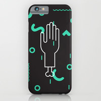 Severed Hand iPhone & iPod Case by Ghostly Ferns