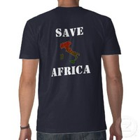 Ali G Save Africa Italy Shirt from Zazzle.com