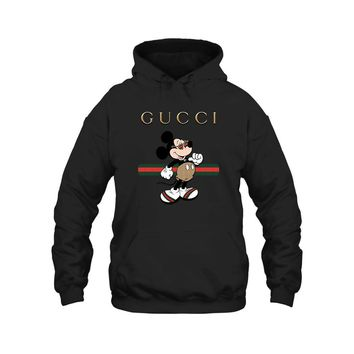 Gucci Stripe Mickey Mouse Stay Stylish Hoodie
