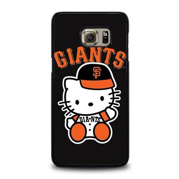 HELLO KITTY SAN FRANCISCO GIANTS Samsung Galaxy S6 Edge Plus Case Cover