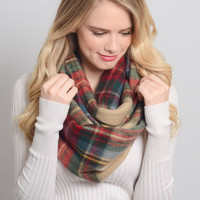 Cozy Infinity Blanket Scarf - 3 COLORS