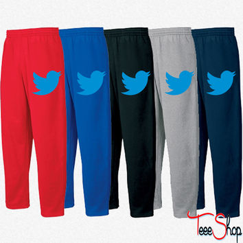 Blue Bird Sweatpants