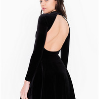 Velvet Violette Skater Dress | American Apparel