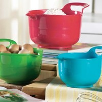 3 Piece Handled Mixing Bowl Set