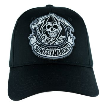 Sons of Anarchy Reaper Hat Baseball Cap Alternative Clothing Biker Gang