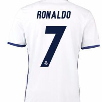 Real Madrid 2016/17 Home Men Soccer Jersey RONALDO #7