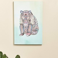 **Boho Bear Canvas Art**