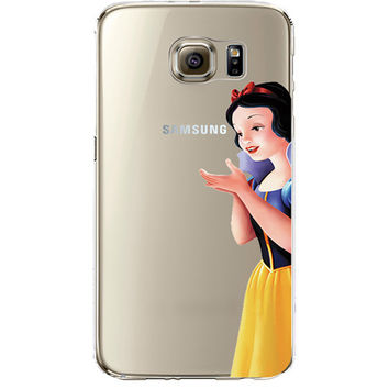 Disney's Snow White Jelly Clear Case for Samsung Galaxy S7 Edge